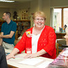 SAM HOUSEHOLDER | THE GOSHEN NEWS<br /> Susan Smith, center, is retiring from Jefferson Elementary School next month after a long career as a speech and hearing clinician in the Middlebury and Goshen school systems.