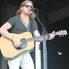 JULIE CROTHERS | THE GOSHEN NEWS Country music singer Joey Hyde performs Wednesday at the Elkhart County 4-H Fair. Hyde opened for fellow country music star Justin Moore.