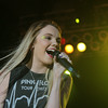 "JULIE CROTHERS | THE GOSHEN NEWS<br /> Country singer Danielle Bradbery, winner of ""The Voice"" in 2013, performed at the Elkhart County 4-H Fair. Bradbery and special guests, the Swon Brothers, who finished third in the 2013 season of ""The Voice"" took the stage Tuesday night."