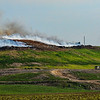 JAY YOUNG | THE GOSHEN NEWS<br /> Smoke rises from a fire at Waste Management's Earthmover landfill, located at 26488 C.R. 26, Wednesday morning.