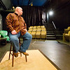 JAY YOUNG | THE GOSHEN NEWS<br /> Joel Thompson, of Mishawaka, auditions for the role of Farmer Dale in the upcoming feature film The Shade Shepherd Wednesday morning at Art House, 211 South Main Street. Thompson said he has been acting for several decades, mainly theatrically, but more recently he has been involved with local film and thought it would be fun to do some acting. The casting call continues Thursday from 10 a.m. until 7 p.m. at Art House.