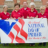 "JAY YOUNG | THE GOSHEN NEWS<br /> Events for the annual National Day of Prayer, May 4, 2017, were announced today by the Goshen National Day of Prayer Task Force.<br /> The Maple City Kiwanis will be hosting a morning breakfast at 6:30 a.m. at the Salvation Army facility, 1013 North Main Street. For reservations contact Dean Devoe at 574-202-6241. Reservations are required for the catered breakfast. Cost is $2.00 at the door. <br /> The noon event will once again be held in Goshen on the east lawn of the Elkhart County Courthouse. It will begin at 11:45 a.m., with a time of worship, followed by members of the local community leading in prayer for the nation. it will finish at 1 p.m. in the case of rain, the location will be changed to LifeSpring Community Church, 116 South Third Street.<br /> For the larger evening event, we will gather for worship and prayer from 6:30 p.m. to 8 p.m. on the wrest lawn of the Elkhart County Courthouse. An alternative rain location will be announced at a later date.<br /> The theme for 2017 is ""For Your Great Names Sake! Hear Us… Forgive up… Heal us! Based on Daniel 9:19,"" emphasizing the need for individuals, corporately and individually to call out to God.<br /> Pictured above, from left, Tim Henke, Mary Ellen Sisson, Carol Miller, Arron Miller, Maggie Judd, Edna Shetler and Ed Wright."