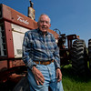 JAY YOUNG | THE GOSHEN NEWS<br /> Much like his favorite old tractor, Paul Whirledge shows no signs of slowing down anytime soon. The Millersburg resident, who still works at least one day per week at Menards, was named the recipient of the Uncle Elmer award.