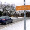 BEN MIKESELL | THE GOSHEN NEWS<br /> Signs have been popping up along C.R. 8 to protest the expansion of Quaker Trace along the road in Bristol.