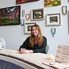 LEANDRA BEABOUT | THE GOSHEN NEWS<br /> Interior designer Nanci Wirt sits inside her business, n. wirt design & gallery.