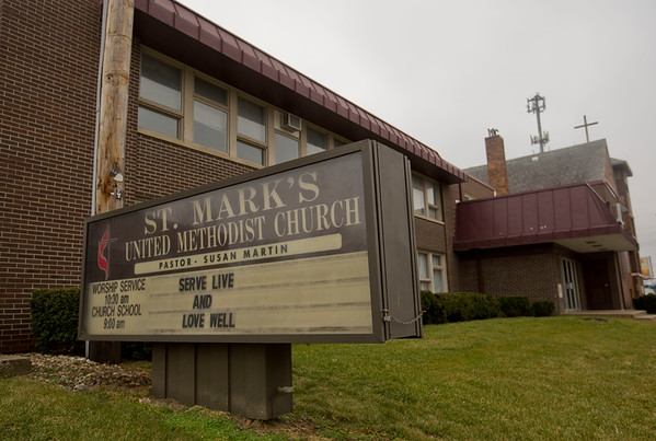 JAY YOUNG | THE GOSHEN NEWS<br /> A request for an overnight emergency homeless shelter was unanimously approved Tuesday for St. Mark's United Methodist Church, 502 N. Main St., Goshen.