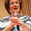 JAY YOUNG | THE GOSHEN NEWS<br /> Congresswoman Jackie Walorski speaks at a Goshen Chamber of Commerce luncheon held at Greencroft Community Center on Friday afternoon.