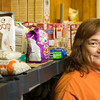 JAY YOUNG   THE GOSHEN NEWS<br /> Sandi Sizemore runs the Fairfield Food Pantry. It services families that reside within the Fairfield school district.