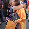 Roger Schneider | The Goshen News<br /> Esmeralda Marin receives a big hug from her mother Julia after graduating from Fairfield Jr.-Sr. High School Sunday.