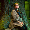 JAY YOUNG | THE GOSHEN NEWS<br /> Goshen High School choral director Marcia Yost is pictured on the set of Camelot, inside the auditorium at the school on Wednesday, March 15, 2017. After 34 years, Camelot is the last musical that Yost is directing at the school.
