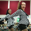 JAY YOUNG | THE GOSHEN NEWS<br /> Concord High School dance team members Savonnah Herring, right and Myha Hall run through their routine on Thursday afternoon at the school.