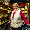 JAY YOUNG | THE GOSHEN NEWS<br /> Mary Metzler photographed inside the FBC Thrift Store on Monday, March 20, 2017.
