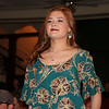 SHERRY VAN ARSDALL | THE GOSHEN NEWS Anna Pickett particpated in the Lovely & Bold charity fashion show and labor auction at the Goshen Theater Saturday.