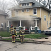 ADAM RANDALL | THE GOSHEN NEWS<br /> Goshen firefighters responded to a reported kitchen fire Thursday afternoon in the 500 block of East Washington Street.