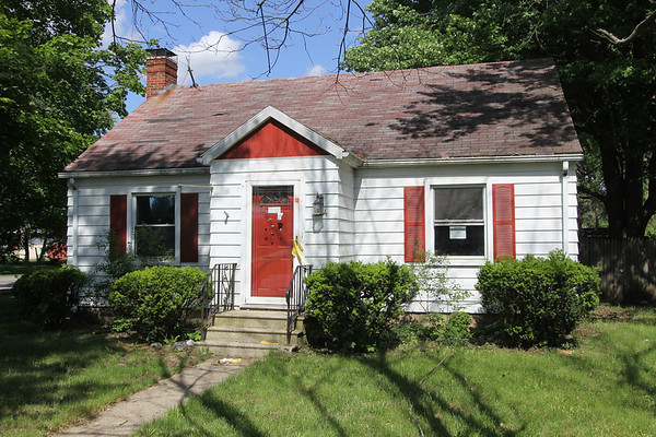 JOHN KLINE | THE GOSHEN NEWS<br /> This vacant home, located at 904 S. 10th St., was found in violation of the city's Neighborhood Preservation Ordinance and unsafe for human habitation during the Goshen Board of Public Works and Safety meeting Monday afternoon.