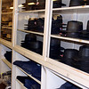SHEILA SELMAN | THE GOSHEN NEWS Hats and pants for Amish customers line the walls of Gohn Brothers in downtown Middlebury. Gohn Brothers has been making clothing for the Amish since the turn of the 20th century. There is a clothing factory on the second floor.