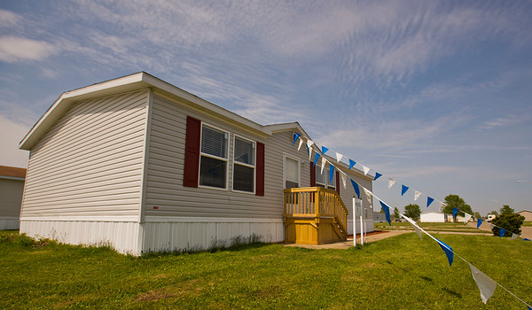 JAY YOUNG   THE GOSHEN NEWS<br /> Pictured is one of the home models that Winchester Trails offers. It is set to hold its grand opening May 18.