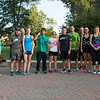 JAY YOUNG | THE GOSHEN NEWS<br /> Participants in The Goshen Brewery Company's weekly Goshen Millrace Dam Beer Run pose for a group photograph after the run Thursday evening. Every Thursday at 6 p.m. runners meet outside the brewery and run to the dam and back, about four miles. Afterwards, the runners meet up and enjoy drinks at the brewery. The runs are free and open to the public.