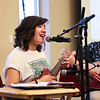 LEANDRA BEABOUT | THE GOSHEN NEWS<br /> Bianca Chagoya and accompanist Cin Thang performed at Fiesta Feast, an annual fundraiser for the Center for Healing & Hope in Goshen.