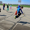 BEN MIKESELL | THE GOSHEN NEWS<br /> Fourth-grade students practice their rope jumping skills during recess Thursday at Shipshewana Scott Elementary School. The jump rope club at Shipshewana Scott has taken over recess time since the clubs inception at the beginning of the year.
