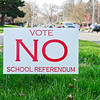 BEN MIKESELL | THE GOSHEN NEWS<br /> The sign showing support against the upcoming Goshen Community Schools referendum.