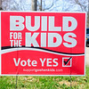 BEN MIKESELL | THE GOSHEN NEWS<br /> The sign showing support for the upcoming Goshen Community Schools referendum.