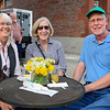 BEN MIKESELL | THE GOSHEN NEWS<br /> From left, Gwen Hershberger, Patricia Ebersole Zwier and Joel Zwier, all from Goshen.