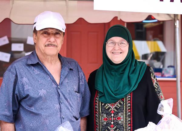 LEANDRA BEABOUT   THE GOSHEN NEWS<br /> Khalaf and Huda Mashhour of Goshen