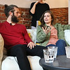 LEANDRA BEABOUT | THE GOSHEN NEWS<br /> Chris Overton and Rachel Shenton talked about their journey to the Oscars at a Friday morning River Bend Film Festival session.