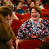 BEN MIKESELL | THE GOSHEN NEWS<br /> Lucy Fazely, from Oscoda, Michigan, who won the award for Best Independent Screenplay.