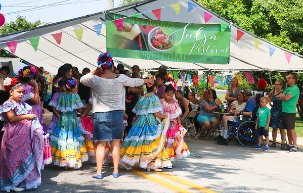 LEANDRA BEABOUT | THE GOSHEN NEWS<br /> The third annual Salsa Festival attracted more guests than previous years.