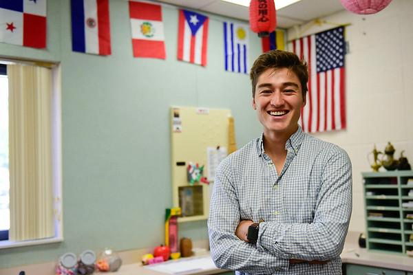 BEN MIKESELL | THE GOSHEN NEWS<br /> Teacher Alejandro Rodriguez will be teaching EL classes at West Goshen Elementary School, as part of Goshen College's EL program.
