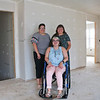 LEANDRA BEABOUT | THE GOSHEN NEWS<br /> From left: Marcia, Abby and Ellie Hershberger stand inside their future home in Goshen.