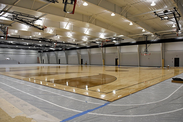 BEN MIKESELL | THE GOSHEN NEWS<br /> The new Athletic Center at NorthWood High School will serve as a practice facility for each varsity sport at the school.