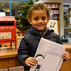 BEN MIKESELL | THE GOSHEN NEWS<br /> Jaylen Jackson, 3, Goshen, prepares to drop his letter to Santa in the mailbox at the Goshen Public Library. Jackson attends Walnut Hill Early Childhood. His parents are Elysha Dukeman and Darrius Jackson.