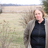 JOHN KLINE | THE GOSHEN NEWS<br /> Pam Weishaupt pauses for a photo during a visit to the home of her son, Jon Weishaupt, Saturday afternoon. The home at 64037 C.R. 31 is located near the approximately 330 acres currently being considered for annexation by the city at the request of companies Lippert Components Manufacturing Inc. and D-ACT-Z LLC.