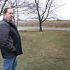 JOHN KLINE | THE GOSHEN NEWS<br /> Stephen Salisbury shares his concerns related to the proposed annexation of 330 acres of land encircling his home at 16411 C.R. 36 during a tour of his property Saturday afternoon.