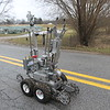 "Aimee Ambrose | The  Goshen News<br /> The Elkhart Police Department's bomb robot is nicknamed ""Cecil,"" after a retired bomb squad member who passed away recently, according to the squad's Lt. Doug Rybeck."