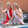 LEANDRA BEABOUT | THE GOSHEN NEWS<br /> Miss Bristol Homecoming Queen and the Bristol Homecoming Teen Queen 2017 participated in Nappanee's annual Fourth of July parade.