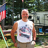 LEANDRA BEABOUT | THE GOSHEN NEWS<br /> Elkhart resident Jim Rogers has been camping with his family at Eby's Pines in the summers for more than a decade.