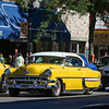 "LEANDRA BEABOUT | THE GOSHEN NEWS<br /> Goshen's ""Cruisin' Reunion"" First Friday attracted one of the largest downtown crowds of the year, a group of young and old who flocked to see dozens of cars cruise Main Street."
