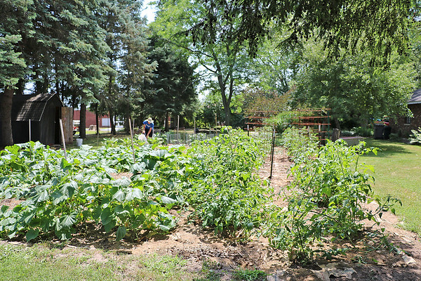 TERRAH HARMON | THE GOSHEN NEWS<br /> The Bethany Christian Schools garden is a part of their Farm to School Initiative.