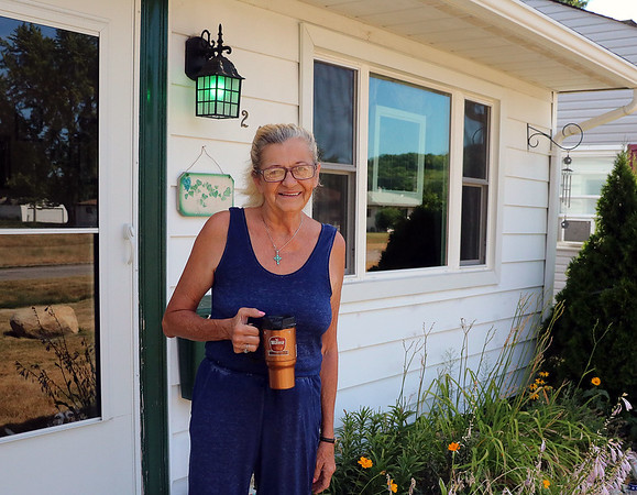 LIZ RIETH | THE GOSHEN NEWS Robin Zachary's house in South Bend received a new roof in 2010 and new windows in 2015 from the nonprofit Builders of Hope.