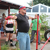 LIZ RIETH | THE GOSHEN NEWS Joseph Dishman, Goshen, competes in the Elkhart County 4-H Fair Strongman Competition for the 8th year in the row on Saturday.