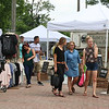 "LEANDRA BEABOUT | THE GOSHEN NEWS<br /> ""Summer Night at the Powerhouse"" is an annual summer market near downtown Goshen."
