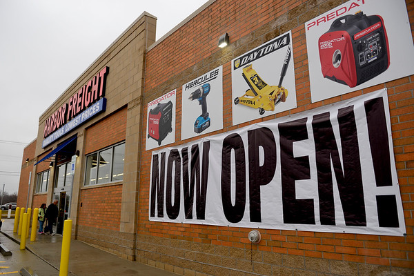 BEN MIKESELL | THE GOSHEN NEWS<br /> Harbor Freight Tools on 4430 Elkhart Road held a soft opening Tuesday, which is the 22nd store to be opened in Indiana. The store's grand opening is tentatively set for April 11. The store is located in the former Walgreens.