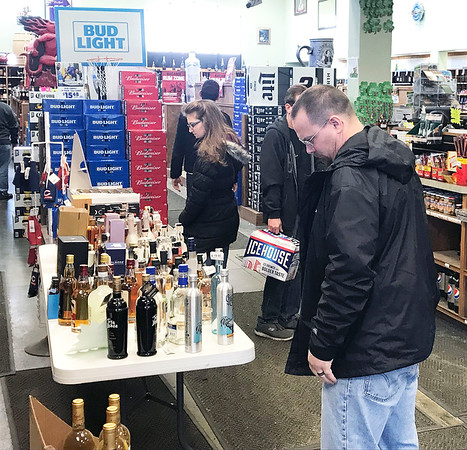 JOHN KLINE | THE GOSHEN NEWS<br /> Customers browse the Chalet Party Shoppe on C.R. 17 in Elkhart Sunday afternoon.