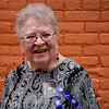 BEN MIKESELL | THE GOSHEN NEWS<br /> Sharon Johnson, aunt of former Goshen police officer Tom Goodwin. This year marks the 20th anniversary since he was killed in the line of duty.