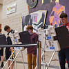 BEN MIKESELL | THE GOSHEN NEWS<br /> Goshen High School students vote to elect the new student adviser to the Goshen City Council during lunch Tuesday at Goshen High School. On the ballet this year were juniors Cade Richardson, Felix Perez Diener, Ben Bontrager Singer and Jonathon Snyder. Perez Diener was the winner, according to information from the city of Goshen.