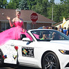 JULIE CROTHERS BEER | THE GOSHEN NEWS<br /> Allison Stump, 2017 Kosciusko County 4-H Fair Queen, waves to parade attendees Monday during the Memorial Day parade in Milford.